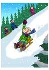 Image joie de neige