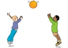 Image jouer au ballon