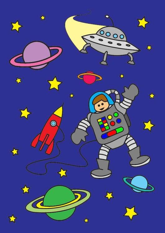 Image l'espace - Dessin 26801
