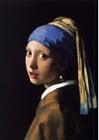 Image La Jeune Fille à la perle / La Jeune Fille au turban - Johannes Vermeer