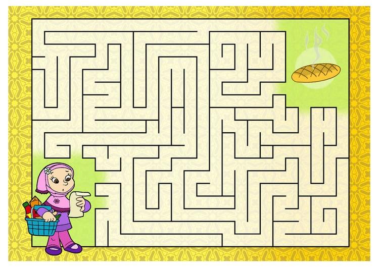 Image labyrinthe dessin 22091 - Labyrinthe dessin ...