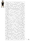 Image labyrinthe football