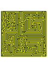 Image Labyrinthe - jaune