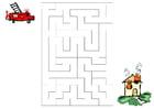 Image labyrinthe pompiers