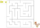 Image labyrinthe poule