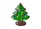Image le sapin de Noël