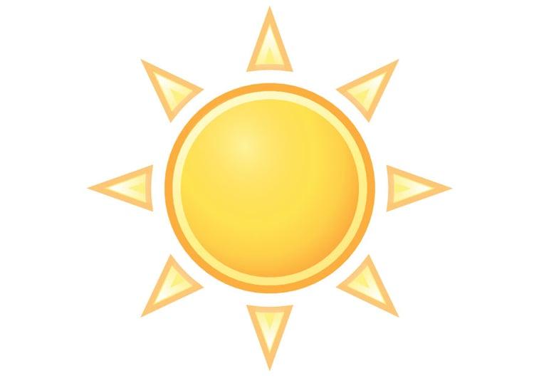 Image le soleil dessin 19901 - Dessin du soleil ...
