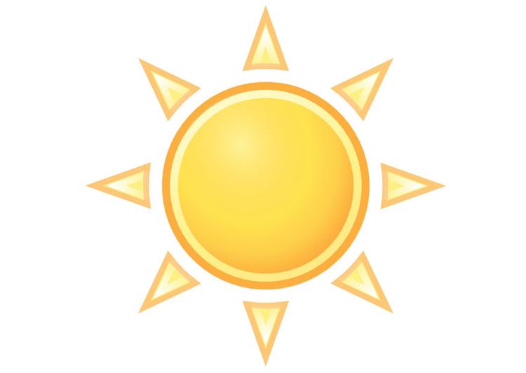 Soleil dessin - Image soleil rigolo ...