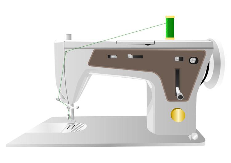 Populaire Image machine à coudre - Dessin 22518 AK14