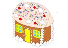 Image maison de pain d'épice