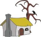 Image maison de sorcière
