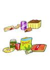 Image malnutrition et bonne nutrition