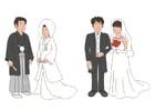Image mariage japonais