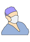 Image masque de bouche