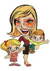 Image Mère avec enfants