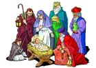 Image naissance de Jésus