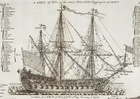 Image navire de guerre trois mats