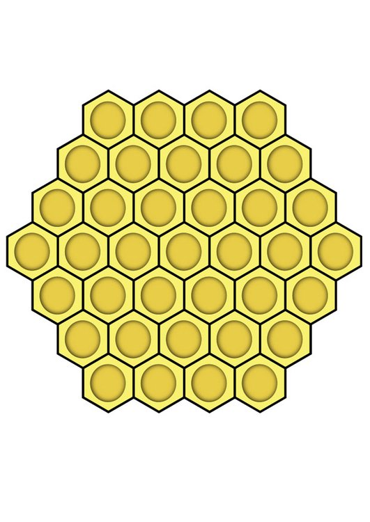 image nid d 39 abeille dessin 27589. Black Bedroom Furniture Sets. Home Design Ideas