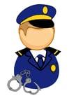 Image officier de police