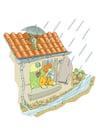 Image orage et pluie