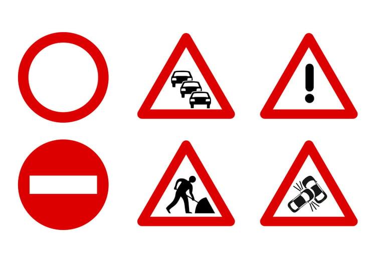 Bien connu Image panneaux de signalisation - Dessin 27523 IU33