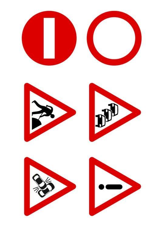Très Image panneaux de signalisation - Dessin 27523 SL03