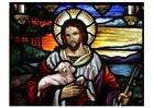 Image Pâques - Jésus avec agneau