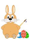 Image Pâques - lièvre de Pâques