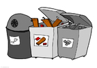 Image parc de containers