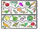 Image peinture de légumes