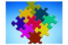Image pièces de puzzle