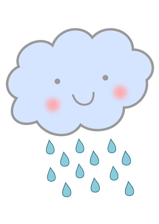 Image pluie nuage dessin 27572 images - Nuage en dessin ...