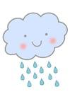 Image pluie - nuage