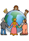 Image prendre soin du monde