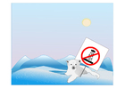 Image protection de l'ours polaire