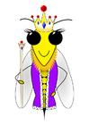 Image reine des abeilles