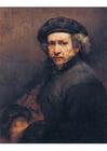 Image Rembrandt - autoportrait