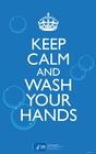 Image restez calme et lavez-vous les mains