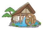 Image roue à eau