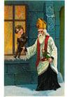 Image Saint-Nicolas avec des jouets