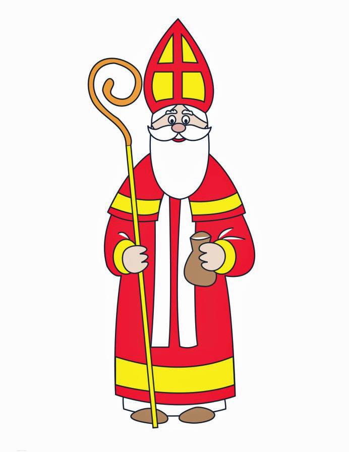 Image saint nicolas dessin 16165 - Saint nicolas dessin couleur ...