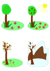 Image saisons