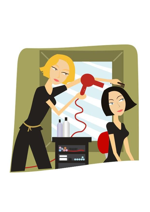 Image salon de coiffure dessin 27259 - Image de salon de coiffure ...