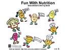 Image s'amuser avec la nutrition