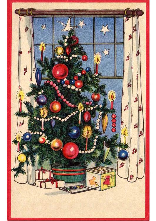 Image sapin de no l avec cadeaux dessin 20397 - Sapin avec cadeaux ...