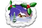 Image scène de Noël