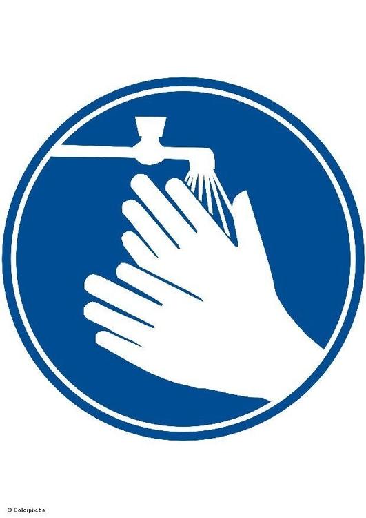 Image se laver les mains dessin 5418 - Dessin se laver ...