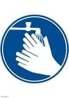 Image se laver les mains