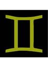 Image signe astrologique - gémeaux