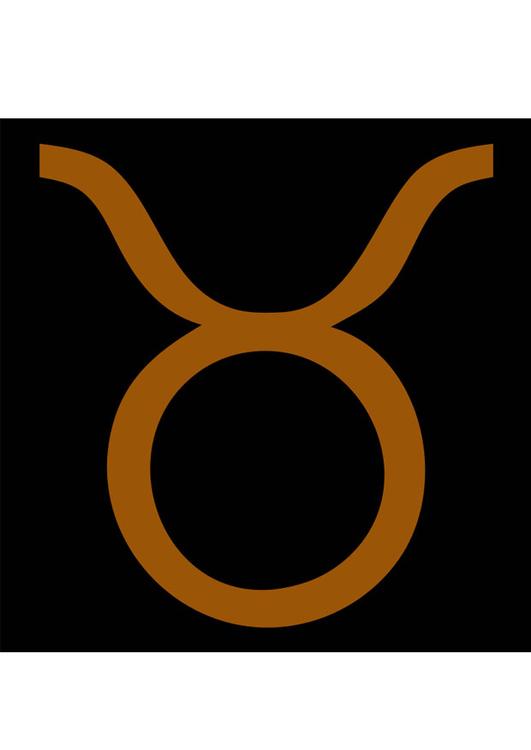 8b19ed2f52d2 Image signe astrologique - taureau - Dessin 27687